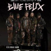 Blue Felix w/ Flux Amuck and M3