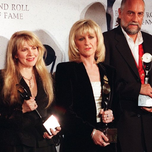 Flashback: Fleetwood Mac Enter the Rock and Roll Hall of Fame in 1998