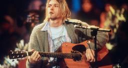 Kurt Cobain's 'Unplugged' Guitar Headed to Auction