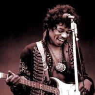 Jimi Hendrix's Japanese sunburst electric guitar sells for over £160,000