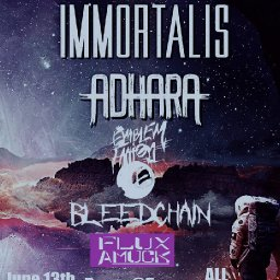 The Emblem Faction w/ Immortalis, Adhara, Bleedchain, and Flux Amuck