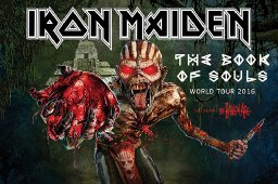 Iron Maiden The Book Of Souls Tour